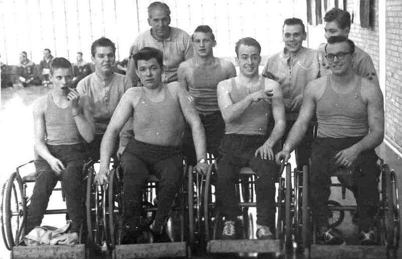Norrbackas basketlag 1962.