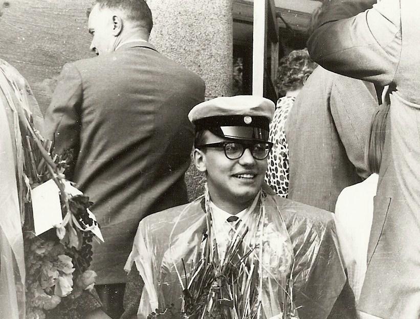 Bengt Christoffersson examen 1962.