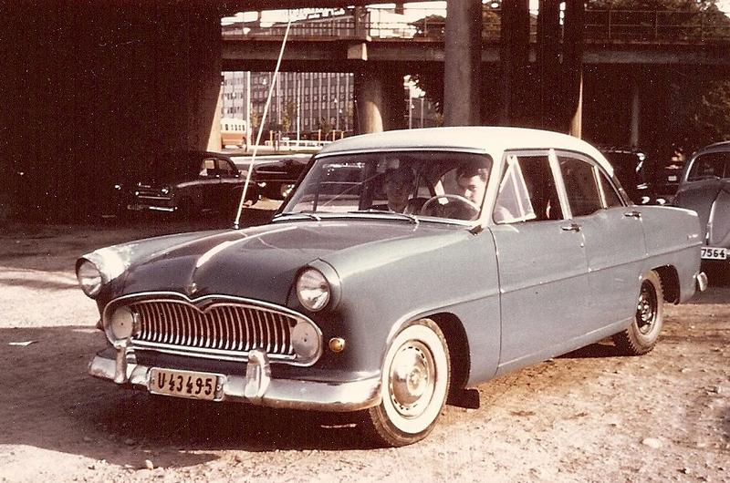 Christer Anderssons Ford Vedette -57a 1964.