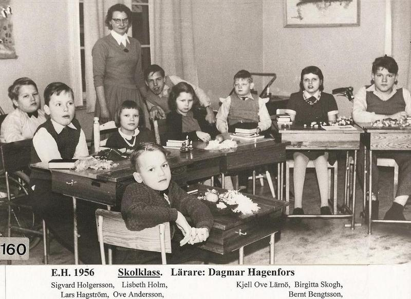 Dagmar Hagenfors klass 1956.