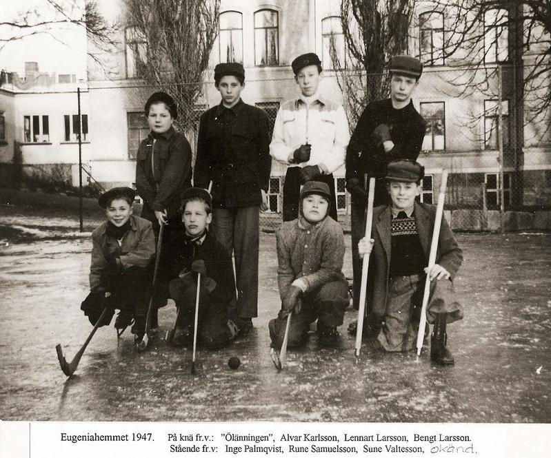 Bandylaget 1947.