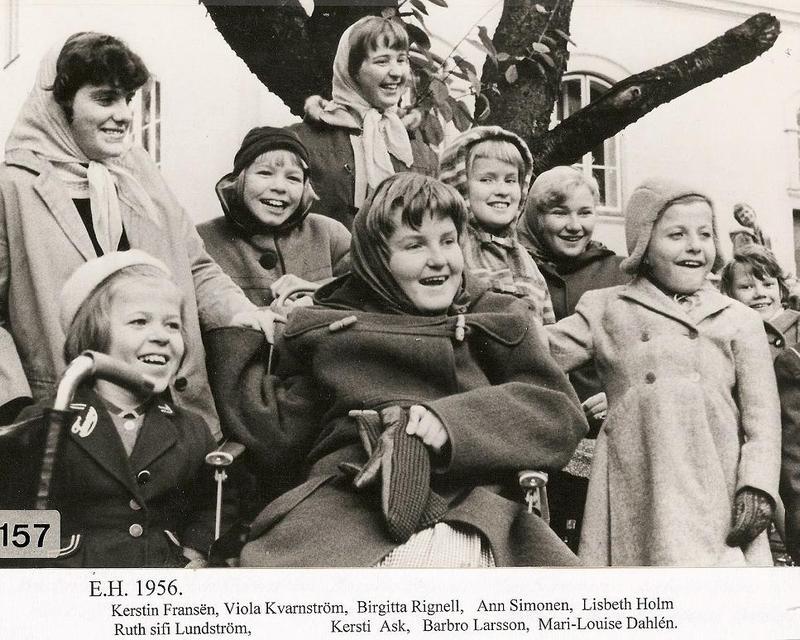 Glada flickor 1956.