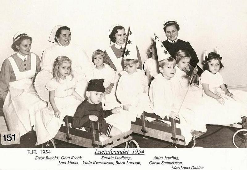 Luciafirande 1954.