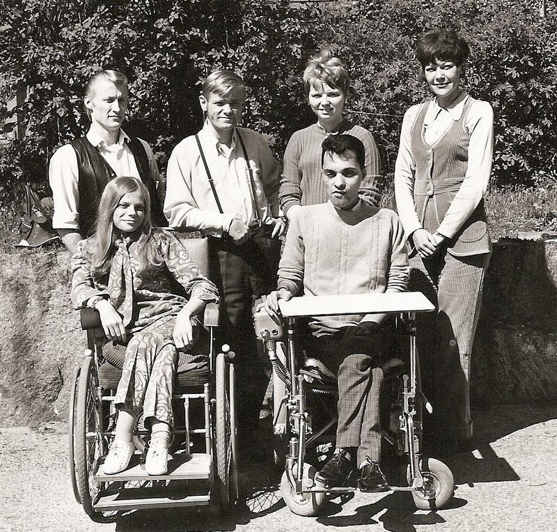 Klassfoto fackskolan ekonomilinjen kameral gren 1969-71.