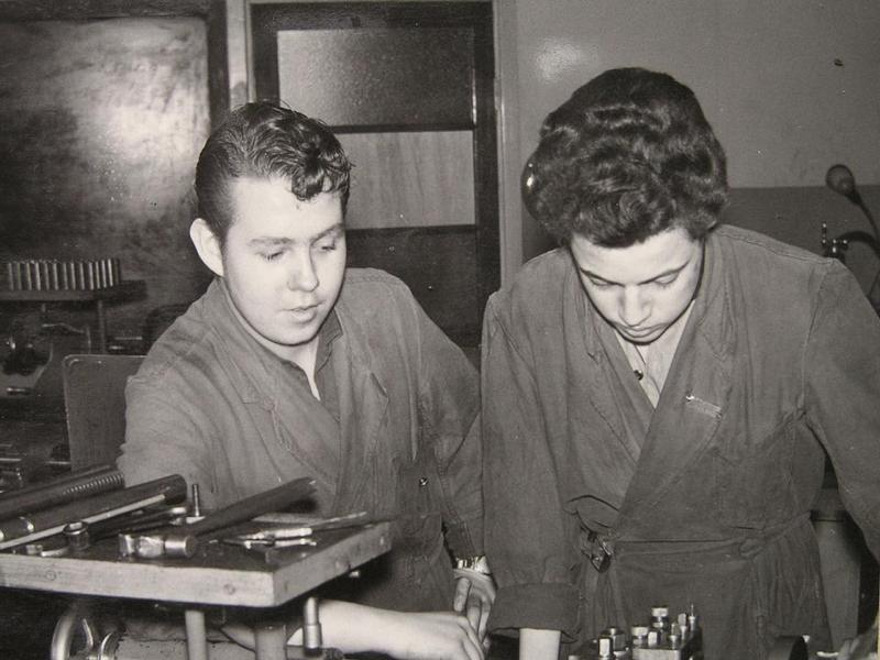 """Bengt """"Kippen"""" Knutsson och Rolf Weibing."""