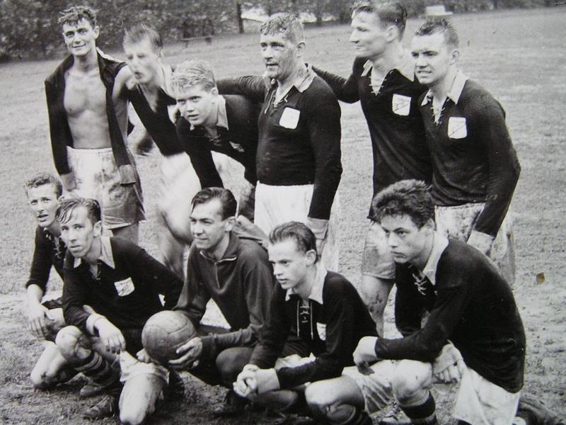 Norrbackas fotbollslag.
