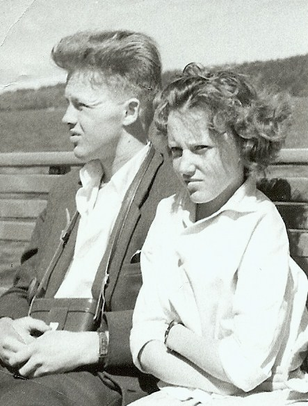 Gun Englund och Rolf Karlsson.