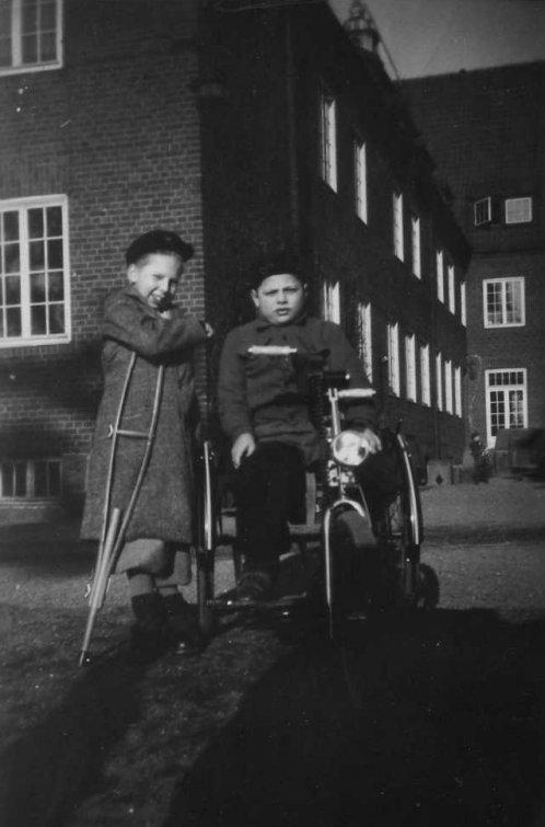 Gunnar Jonasson och Stig Rubin 1950