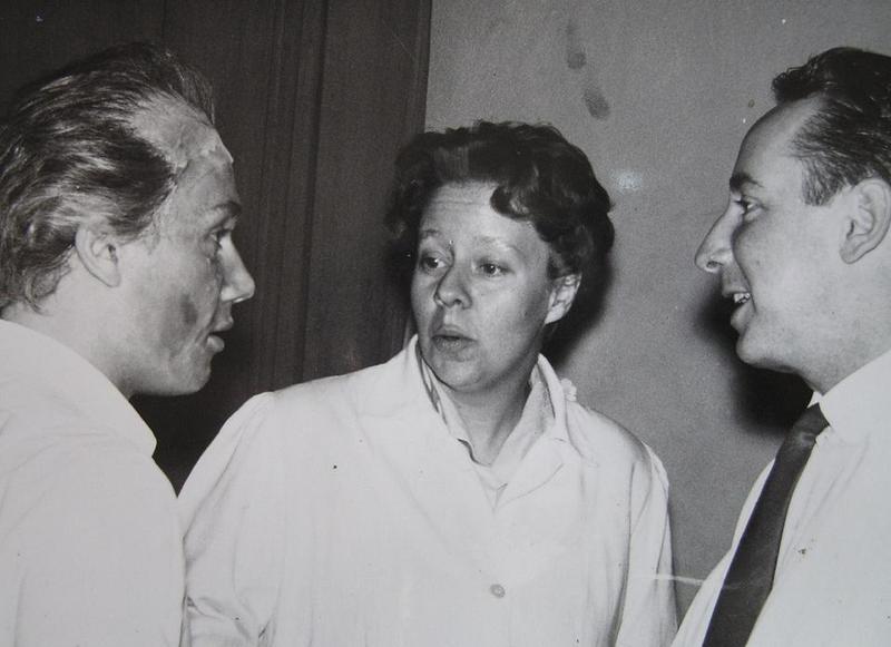 Hillevi Tellander och Erik Källkvist.