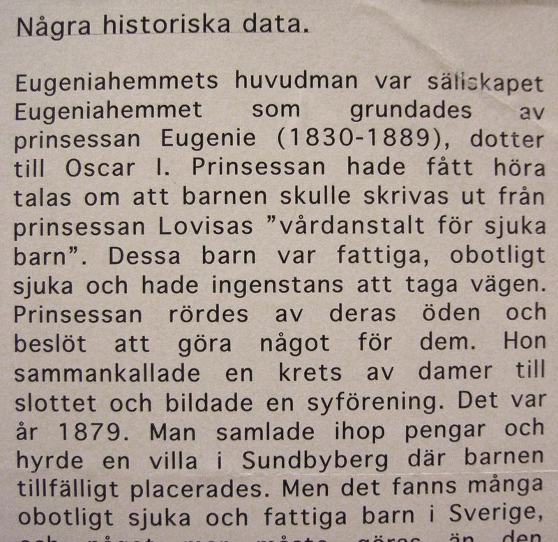 Historiska data.