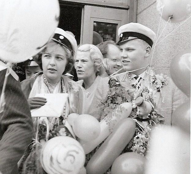 Ingvar Sundqvist, realexamen 1959.