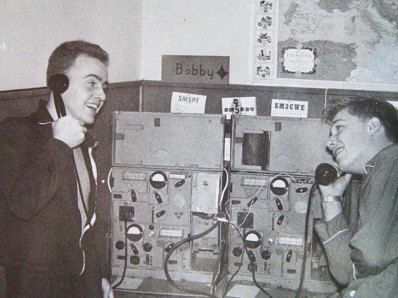 Jan Cederholm och Bobby Bäck.
