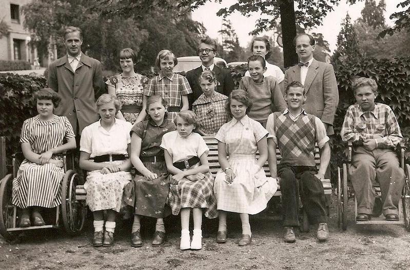 Klass 1:4 läsåret 1953-54.