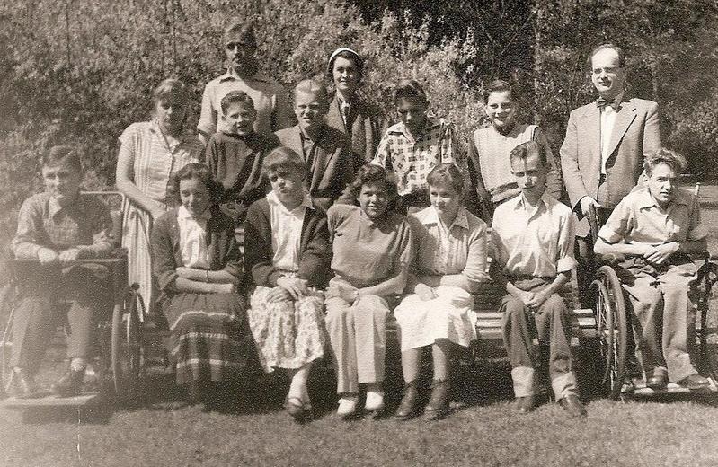 Klass 1:4 läsåret 1954-55.