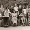 Klass 1:4 läsåret 1957-58.