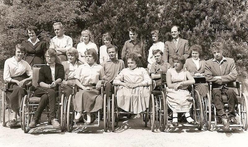 Klass 2:4 läsåret 1957-58.