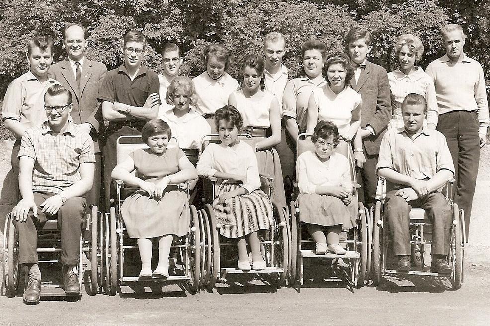 Klass 2:4 läsåret 1959-60.