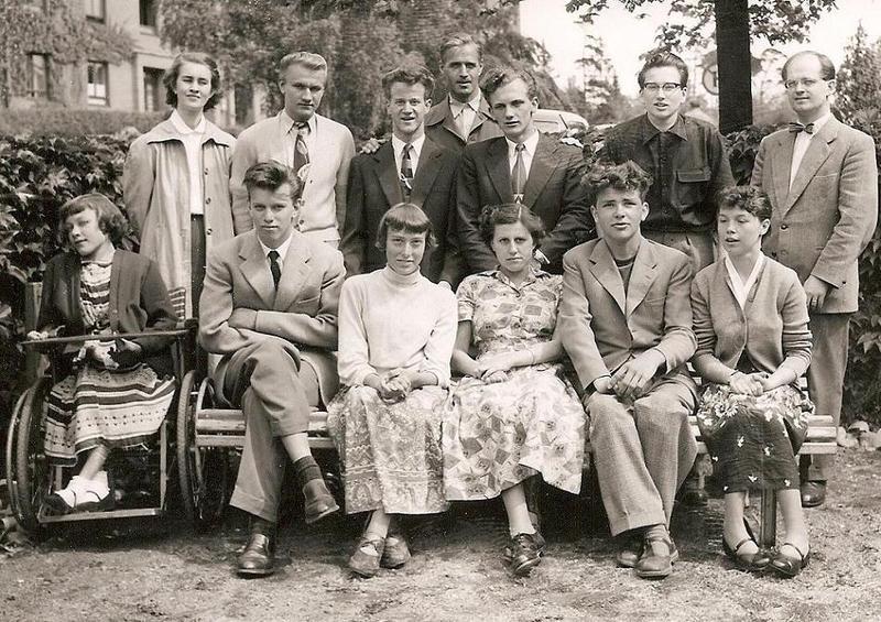 Klass 3:4 läsåret 1953-54.