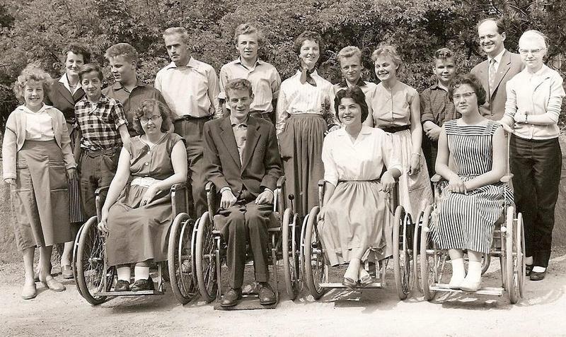 Klass 3:4 läsåret 1957-58.
