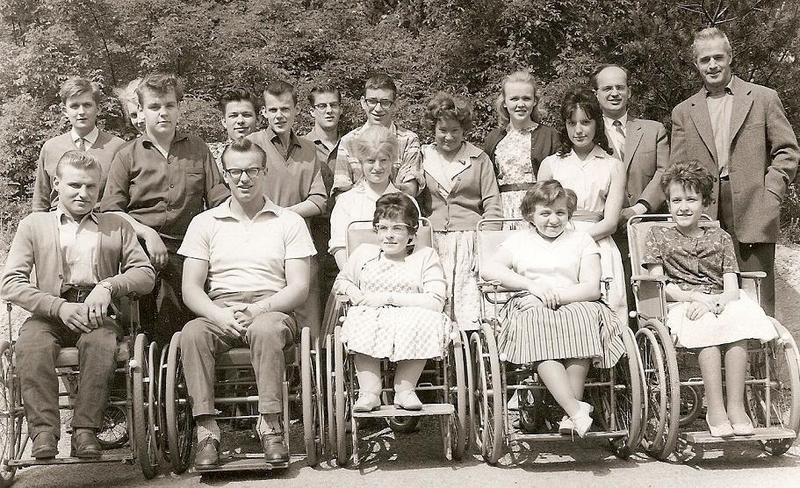 Klass 3:4 läsåret 1960-61.
