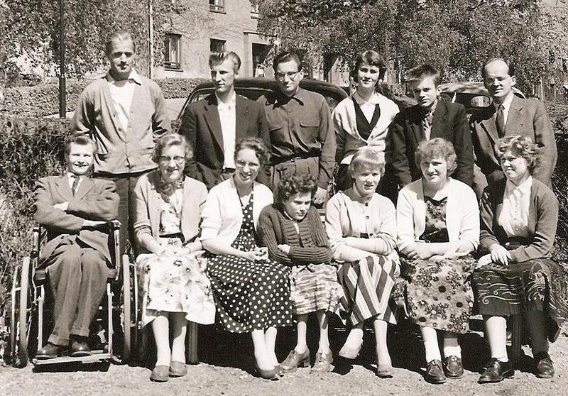 Klass 4:4 läsåret 1955-56.