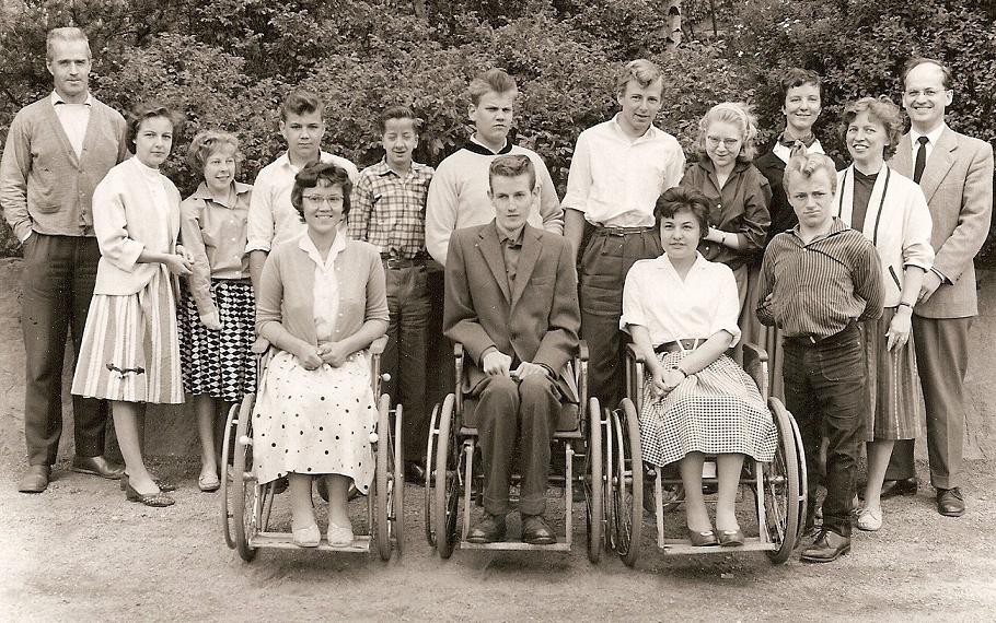 Klass 4:4 läsåret 1958-59.