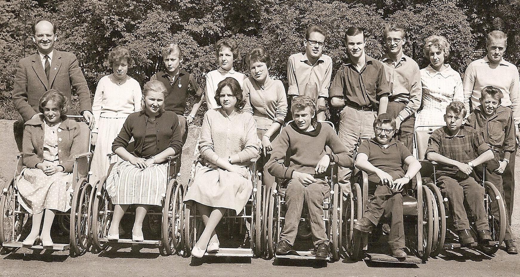 Klass 1:4 läsåret 1959-60.