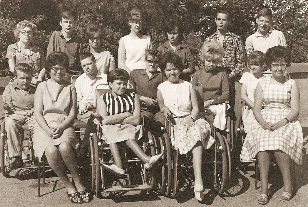 Klass 3:4 läsåret 1962 - 1963.