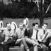 Realexamen 1955 (Bara killarna med halmhattar).