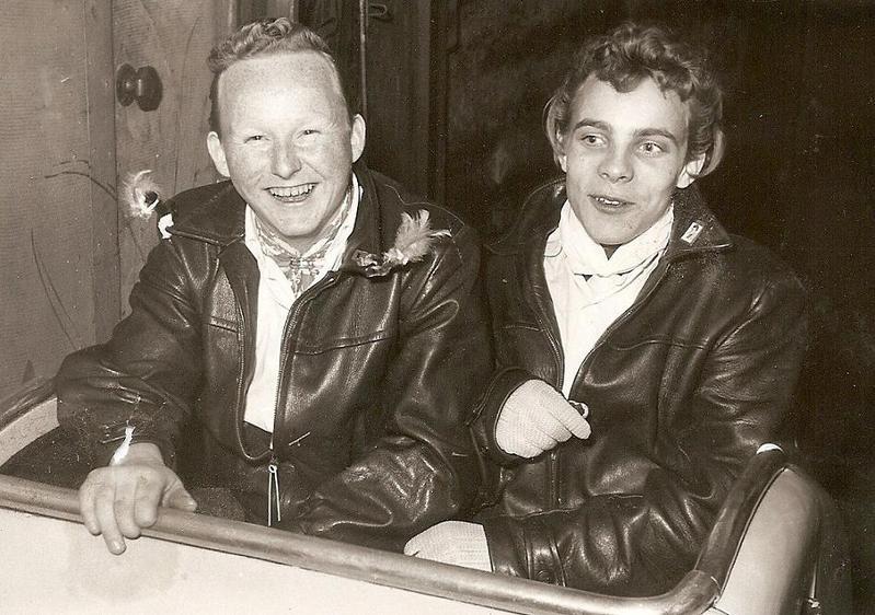 Lidas och Kurt.