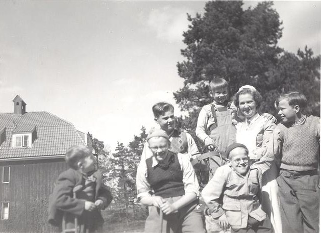Lidingöhemmet 1951.