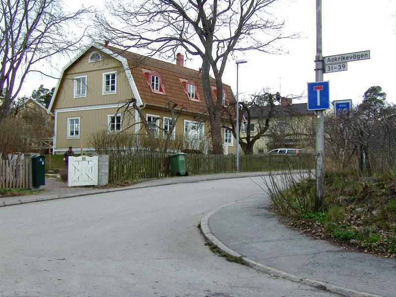 Vaktmästare Danielssons hus idag (april 2008).