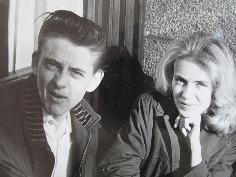 """Lasse """"Skåningen"""" Nilsson och Irene."""