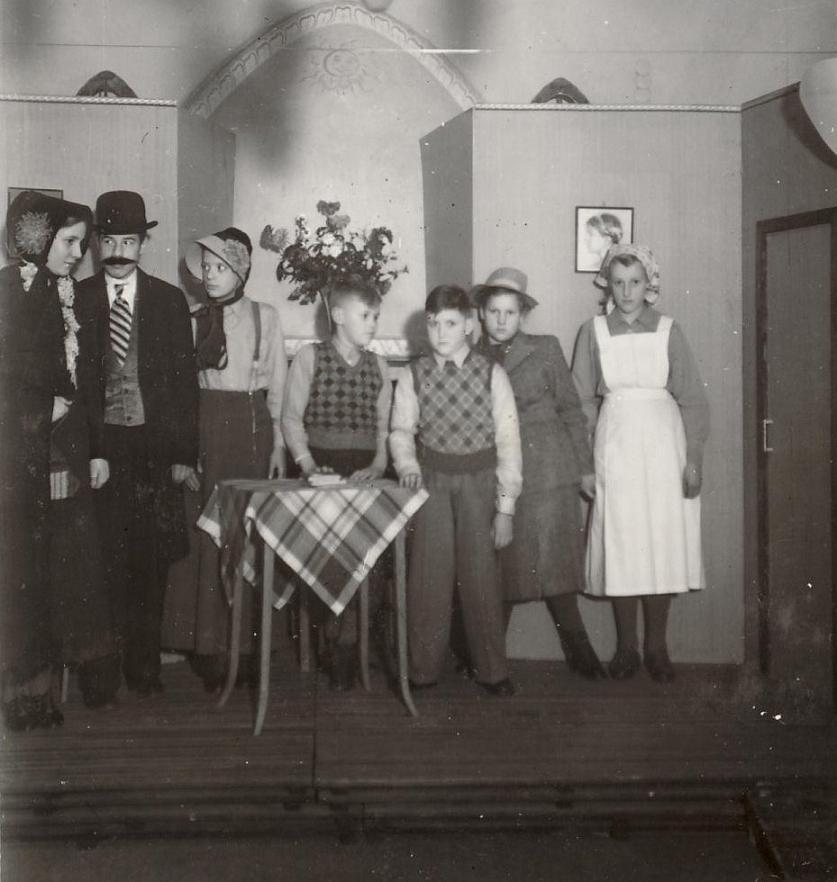 Skådespelare (40-talet).