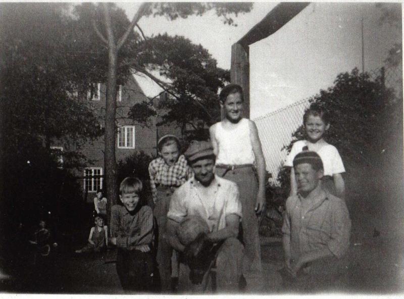 Miatorps IF på skolhemmet juni 1950