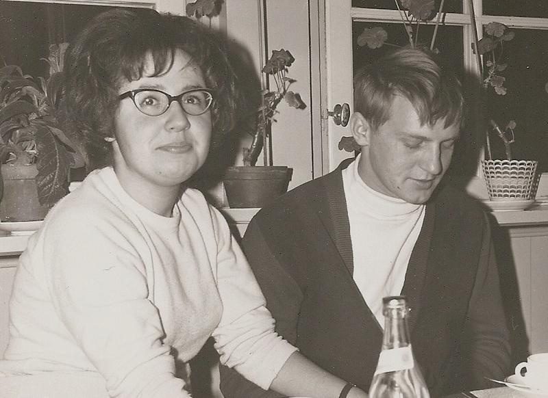 Inga-Lill Holm och Rune Pettersson.