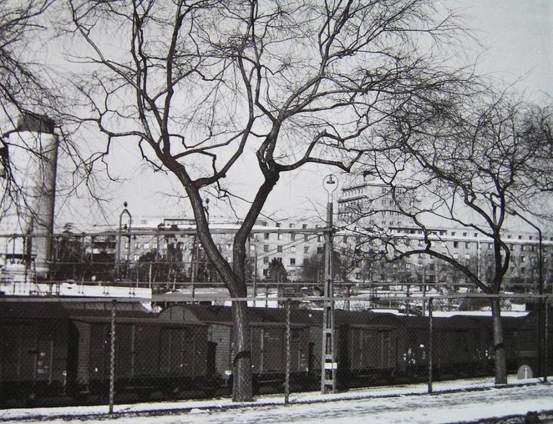 Norrbacka sett från Norra Stationsgatan.