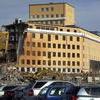 Rivningen av Norrbackas flygel okt. 2010.