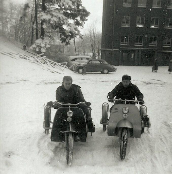 Per-Arne Nilsson och Börje Berggren.