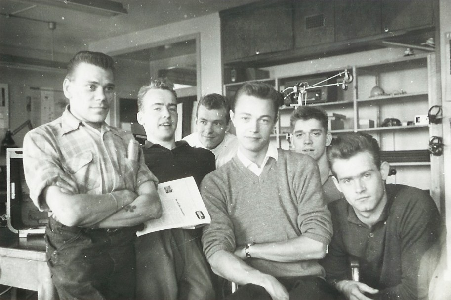 Radio-TV elever 1962.
