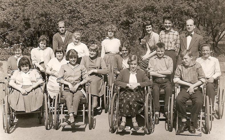 Klass 1:4 läsåret 1956-57.