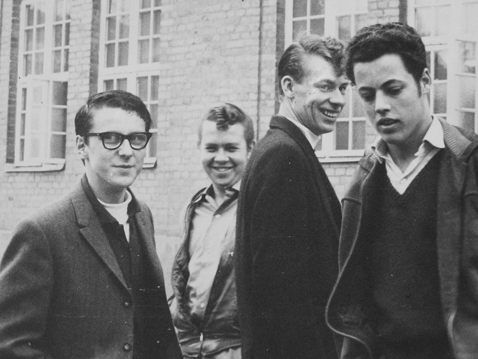 Studiebesök på ALPHA den 3 maj 1961.