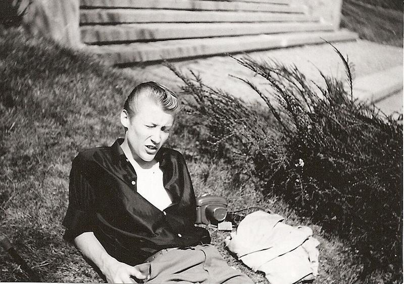 "Rolf Johansson, ""finmek"" 1963-65."