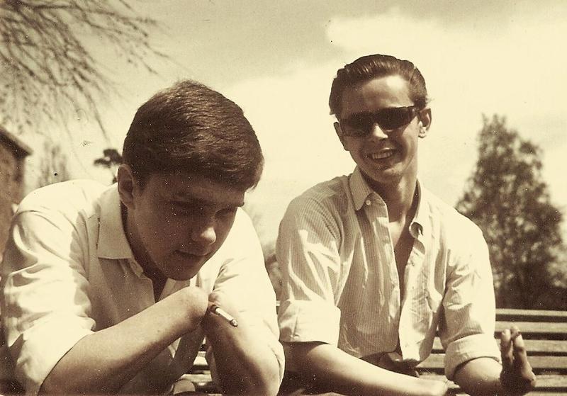 Rune och Torbjörn 1963.
