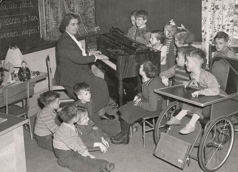Lilly Offerholms 2:a klassare 1950.