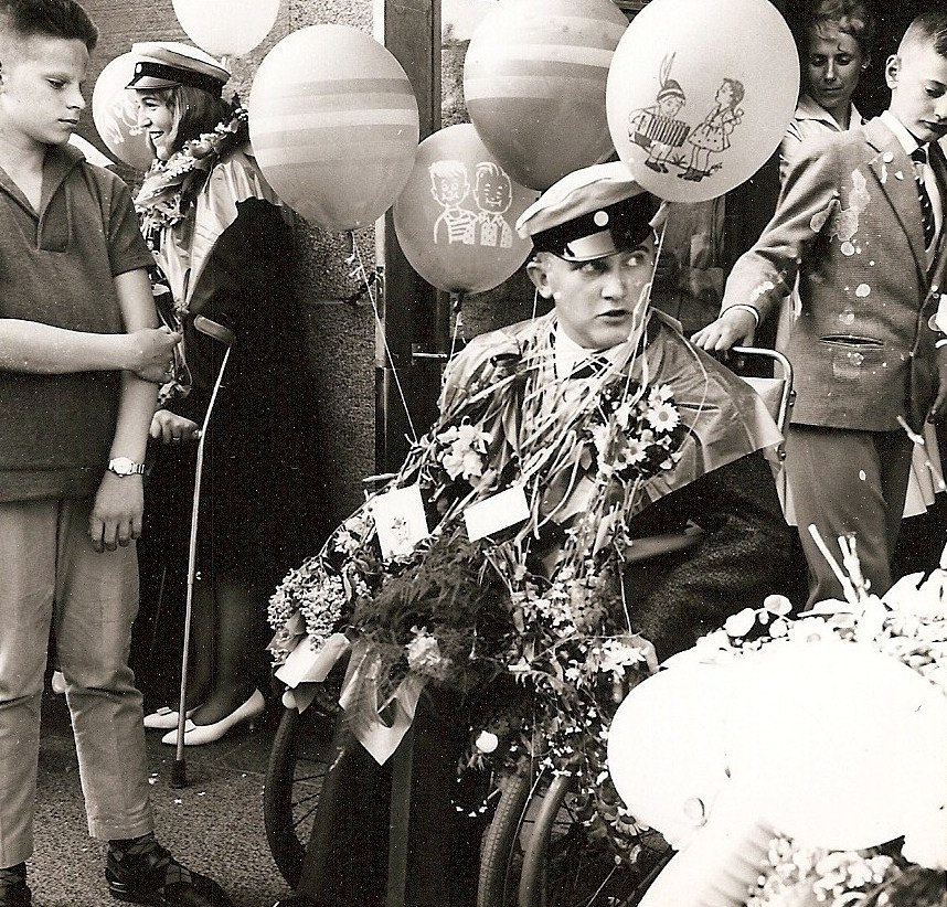 Sören Rosberg examen 1961.