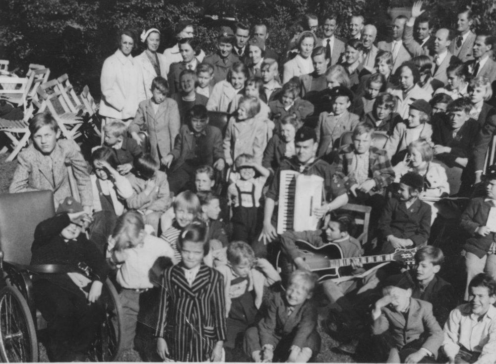 Utflykt till Skäret 1953