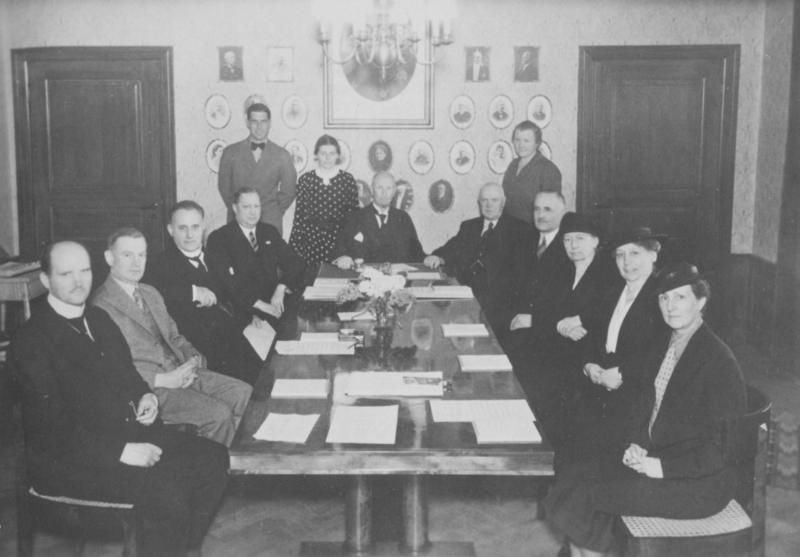 Vanföreanstaltens styrelse 1937