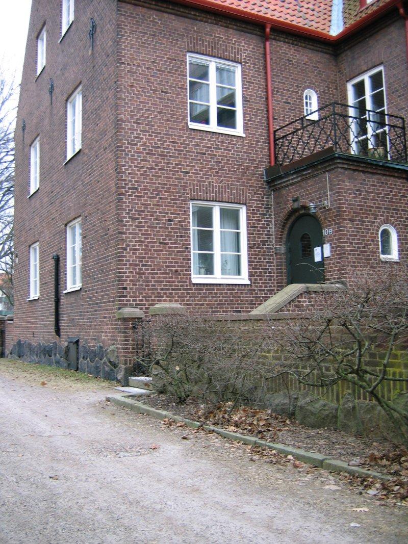 Berzeliusgatan 10 B, f d 1:ans ingång
