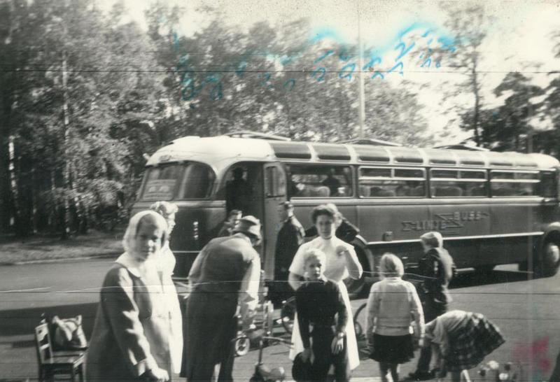 Bussutflykt med Lions 1961